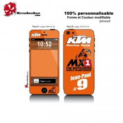 Sticker iPhone 5 KTM Racing Team