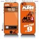 Sticker iPhone 5 KTM Racing Team
