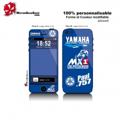 Sticker iPhone 5 Yamaha Personnalisable