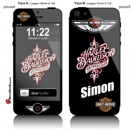 Sticker iPhone 5 Harley Davidson