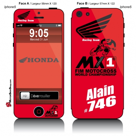 Sticker iPhone 5 Honda Racing Team