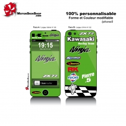 Sticker iPhone 5 Kawasaki Sportive ZX7R