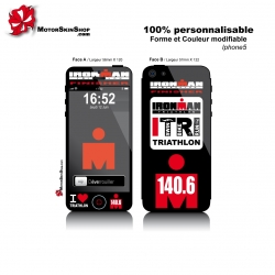 Sticker iPhone 5 Ironman finisher triathlon