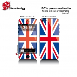 Sticker iPhone 5 Drapeau Anglais