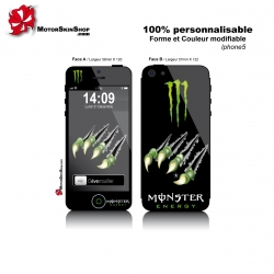 Sticker iPhone 5 Monster Energy Griffe Monstre