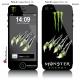 Sticker iPhone 5 Monster Energy Griffe Monstre