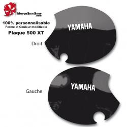 Sticker plaque 500 XT Moto Yamaha origine