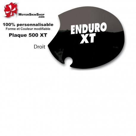Sticker plaque latérale Enduro XT pour 500 XT