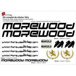 Sticker cadre Morewood Vélo