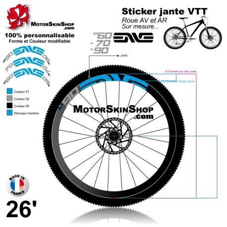 Sticker jante ENVE 2015 VTT M60 M70 M90