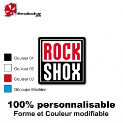 Sticker vélo RockShox