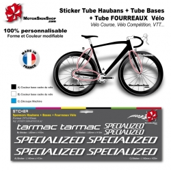 Planche Sticker Specialized Tarmac Hauban Base Fourreau