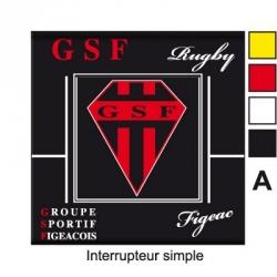 Sticker prise GSF Rugby Figeac