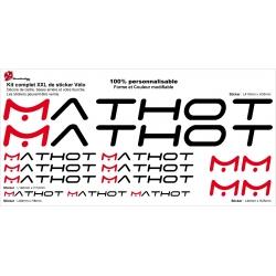 Sticker cadre Mathot vélo XXL