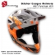 Sticker Casque MET Parachute Helmets VTT