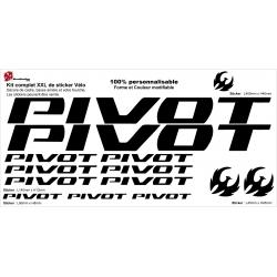 Sticker cadre vélo Pivot XXL