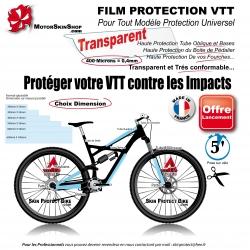 Film de Protection VTT Universel 0,4mm soit 400 Microns bande