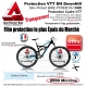 Protection Cadre VTT Skin Protect BIKE XTREM DH 2000