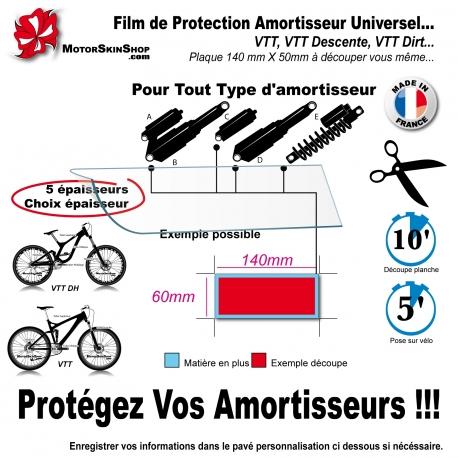 Film de Protection Amortisseur VTT