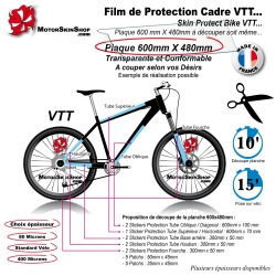 Film de Protection VTT Universel