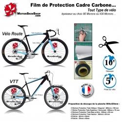 Film Protection cadre Carbone Vélo route