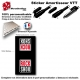 Sticker Amortisseur VTT RockShox Noir Bonbonne