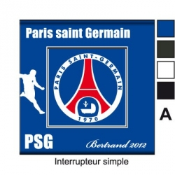 Sticker prise PSG Paris Saint Germain universel