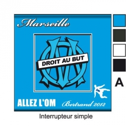 Sticker prise Olympique de Marseille