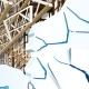 Décoration Géante Spiderman mur complet 3D Vecteur, trompe l'œil.