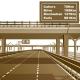 Décoration Géante autoroute 3D Vecteur, trompe l'œil.