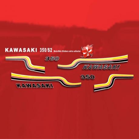 Sticker 350 SE Kaxasaki Moto Yamaha