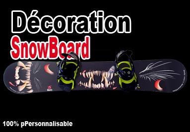 Décoration SnowBoard